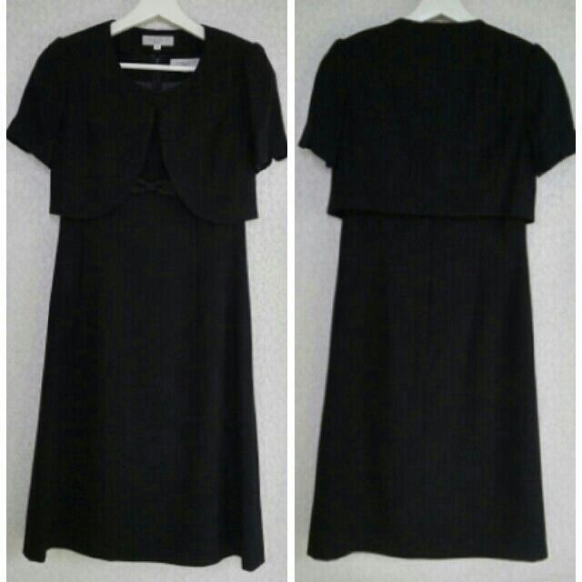 しまむら(シマムラ)の女性礼服喪服 三点セット 7号 レディースのフォーマル/ドレス(礼服/喪服)の商品写真