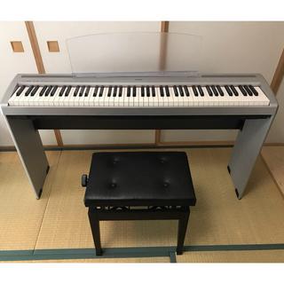 ヤマハ(ヤマハ)のきんこ1353様専用‼︎ヤマハ 電子ピアノP-85 椅子付き 88鍵盤(電子ピアノ)