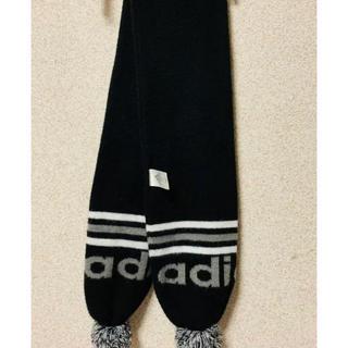 アディダス(adidas)の美品☆adidas  スポーツ  マフラー(マフラー/ショール)