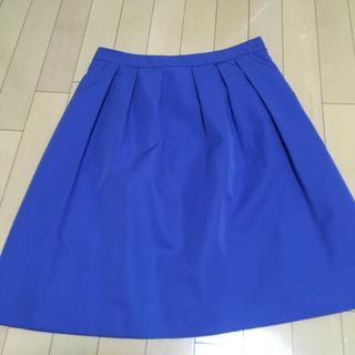フィールドドリーム(field/dream)の【field dreams】鮮やかな青 スカート(ひざ丈スカート)