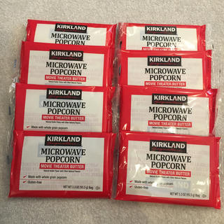 コストコ(コストコ)のコストコ ポップコーン 8袋セット(インスタント食品)