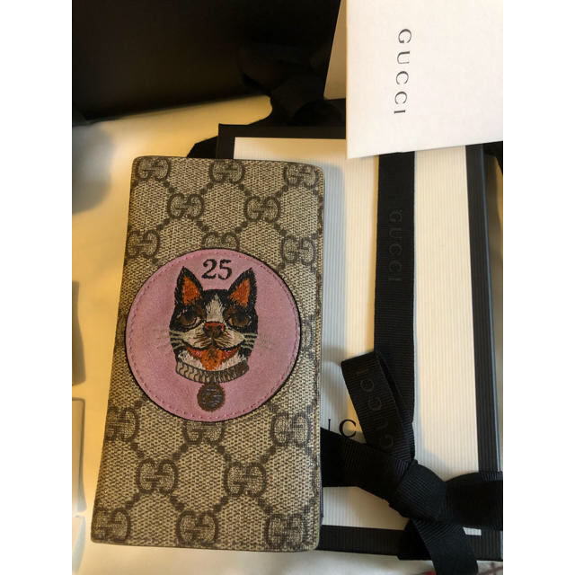 iphone8 ケース ゴリラ / Gucci - グッチ GGスプリーム iPhone7/8ケース 手帳型 BOSCO 正規品の通販 by ttcrrmm's shop|グッチならラクマ