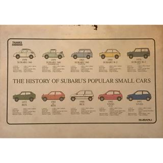 スバル(スバル)のスバル ヒストリー スモールカー ノートブック 非売品(カタログ/マニュアル)