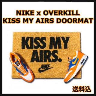 ナイキ(NIKE)のNIKE x OVERKILL KISS MY AIRS DOORMAT(玄関マット)