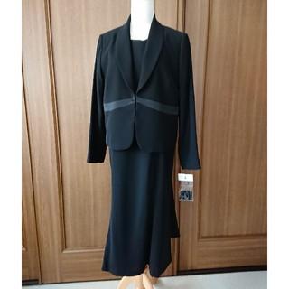 セシール(cecile)の【未使用】ブラックフォーマル アンサンブル 15ABR 喪服 礼服(礼服/喪服)