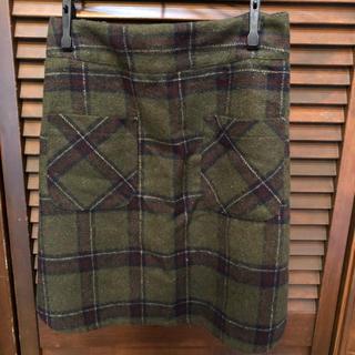 アンティックラグ(antic rag)のチェックタイトスカート(ミニスカート)