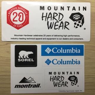 コロンビア(Columbia)のマウンテンハードウェア 20周年記念 ステッカー   (その他)