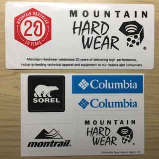 コロンビア(Columbia)のマウンテンハードウェア 20周年記念 ステッカー   (登山用品)
