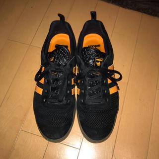 アディダス(adidas)のadidas palace スニーカー オレンジ 黒(スニーカー)