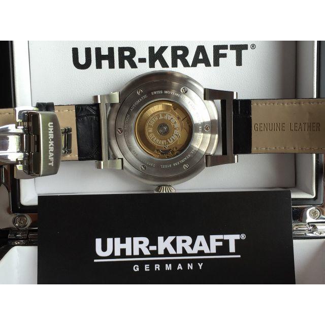 huge discount 3913b 58310 【ドイツ製 世界限定】 自動巻き高級機械式時計 『UHR-KRAFT』