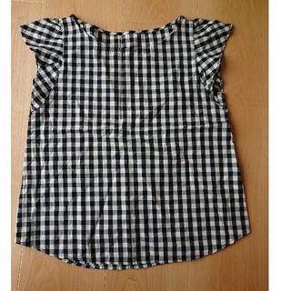 ジーユー(GU)のGU ギンガムチェック ブラウス(シャツ/ブラウス(半袖/袖なし))