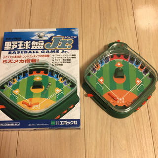 エポック(EPOCH)のエポック社 野球盤J r.(野球/サッカーゲーム)