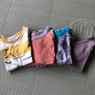 ハッカ(HAKKA)のkame様専用 ベビー 男の子 80サイズ 長袖 Tシャツ4枚セット(Tシャツ)