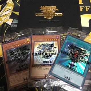 ユウギオウ(遊戯王)のwcs2017 未開封 ブラックマジシャンガール ホロ 非売品 遊戯王 20th(シングルカード)