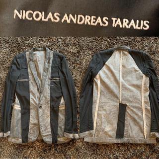 ニコラアンドレアタラリス(NICOLAS ANDREAS TARALIS)の伊勢丹購入!エディスリマンの元アシスタント タラリスの総裏返しジャケット メンズ(テーラードジャケット)