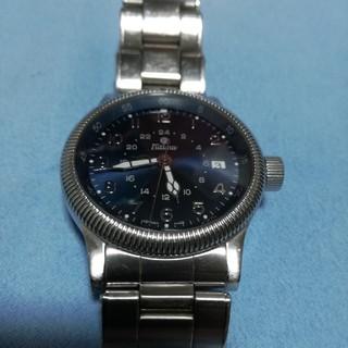 グラスヒュッテオリジナル(Glashutte Original)のチュチマ▪パイロットGMT(自動巻き)裏スケルトン(腕時計(アナログ))