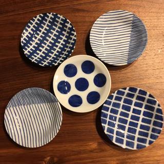 ハクサントウキ(白山陶器)の美濃焼 豆皿 5枚 未使用 (食器)