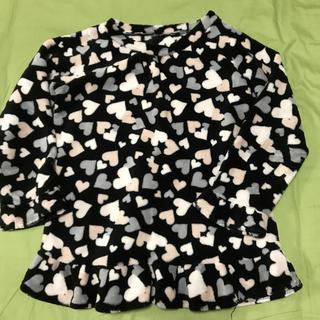 ジーユー(GU)の140サイズ  フリースパジャマ 上着(パジャマ)