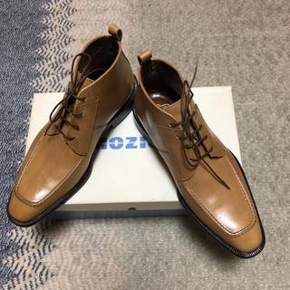 ロブス(LOBBS)の新品未使用 ロブス レザーブーツ 25(ブーツ)