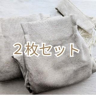 ムジルシリョウヒン(MUJI (無印良品))の送料込み*無印良品 カーテン2枚 100✕178cm(カーテン)