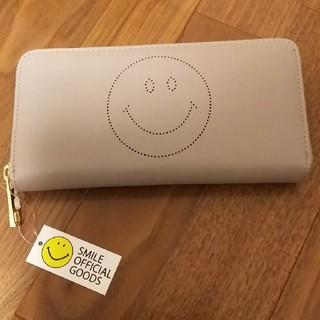 シマムラ(しまむら)の【新品】にこちゃんパンチング長財布 スマイリー(財布)
