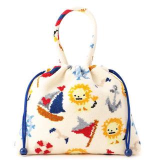 バーニーズニューヨーク(BARNEYS NEW YORK)の即購入OK フェイラー バーニーズ 巾着 バッグ ポーチ ハンカチ タオル(ハンカチ)
