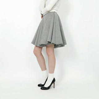 ジンジャーエール(GINGER ALE)のフレアスカート(ひざ丈スカート)