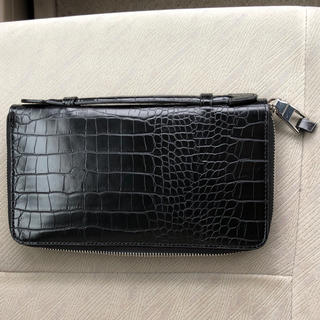 ザラ(ZARA)のZARA 財布  クロコダイル風(長財布)