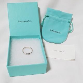 ティファニー(Tiffany & Co.)のティファニー TIFFANY & Co. 1837 ナローリング メンズ #18(リング(指輪))