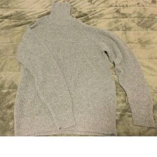 ムジルシリョウヒン(MUJI (無印良品))のメンズ★タートルネックセーター Mサイズ(ニット/セーター)