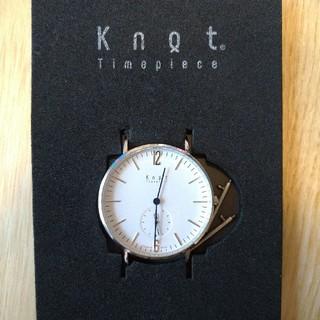ノットノット(Knot/not)のknot 腕時計 専用(腕時計(アナログ))