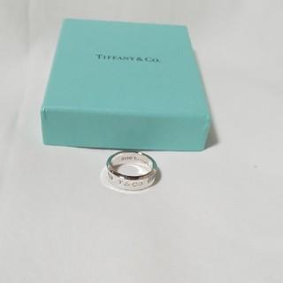 ティファニー(Tiffany & Co.)のティファニー  TIFFANY & Co. 1837 wide メンズ リング(リング(指輪))