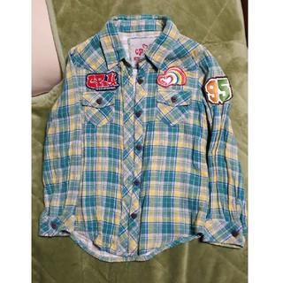 クルー(CRU)の130センチキッズシャツ(ブラウス)