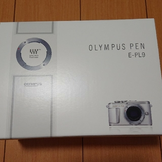 オリンパス(OLYMPUS)のオリンパス  PEN E-PL9 ダブルズームキット ホワイト(デジタル一眼)