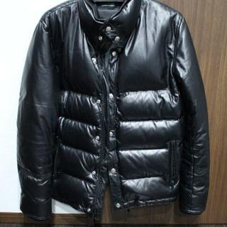 ウィンアンドサンズ(Win&Sons)のほぼ新品 RESOUND CLOTHING レザーダウン 2 M(ダウンジャケット)