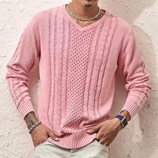 zozo ピンク セーター(ニット/セーター)