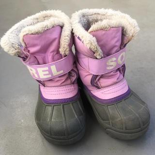 ソレル(SOREL)のSORELのスノーブーツ 15cm(ブーツ)