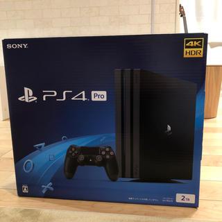 プレイステーション4(PlayStation4)のカズ様専用 プレイステーション4pro 2TB 新品未開封(家庭用ゲーム機本体)
