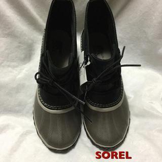 ソレル(SOREL)の新品タグ付き SOREL 防水ショットブーツ 24cm(ブーツ)