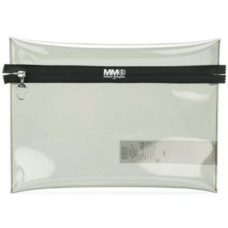 エムエムシックス(MM6)のMM6 クラッチ クリア(クラッチバッグ)