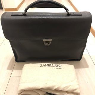 ザネラート(ZANELLATO)の新品未使用 ザネラート ブリーフケース ブラウン(ビジネスバッグ)