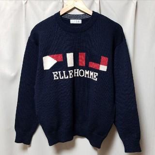 レア!90s ELLE HOMME PARIS ニット セーター