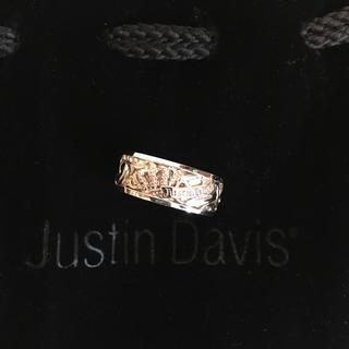 ジャスティンデイビス(Justin Davis)のジャスティン デイビス リング シルバー925(リング(指輪))