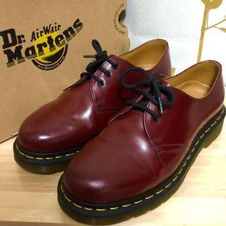 ドクターマーチン(Dr.Martens)のドクターマーチン チェリーレッド 3ホール UK6 1461(ブーツ)