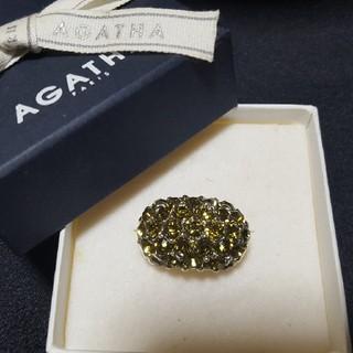 アガタ(AGATHA)のAGATHA アガタ リング yellow(リング(指輪))