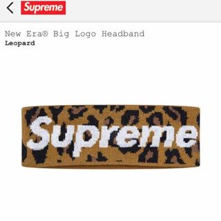 シュプリーム(Supreme)のSupreme New Era Big Logo Headband シュプリーム(その他)
