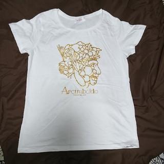 【アンチンボルド展】Tシャツ(女性Mサイズ・白)