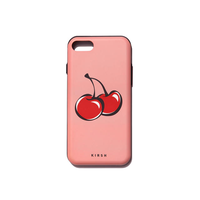 バーバリー iphone7 カバー 財布型 | kirsh  BIG チェリー iPhoneケース iPhone7 / 8の通販 by バームバーム's shop|ラクマ