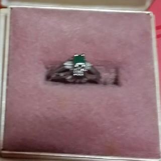 アルテミスクラシック(Artemis Classic)のエメラルド指輪⭐宝石⭐箱つき(リング(指輪))
