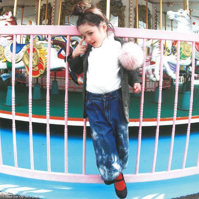 GO TO HOLLYWOOD(ゴートゥーハリウッド)のaya様専用! ゴートゥーハリウッド サテンタック ブラウス 130 キッズ/ベビー/マタニティのキッズ服女の子用(90cm~)(ブラウス)の商品写真